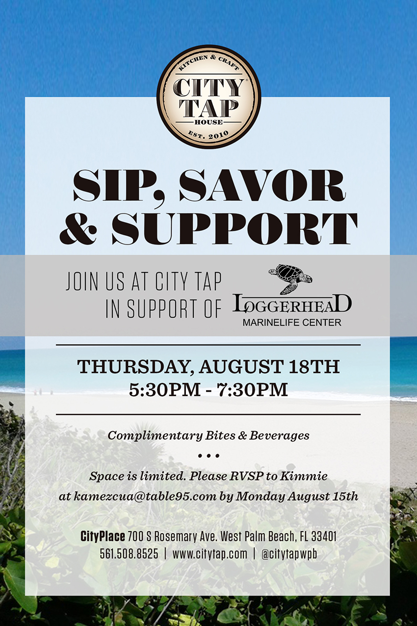 Sip, Savor & Support at City Tap House @ City Tap House - West Palm Beach | West Palm Beach | Florida | United States